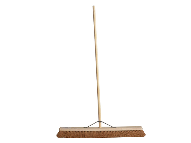 Faithfull Broom Soft Coco 90cm (36in) + Handle & Stay FAIBRCOCO36H