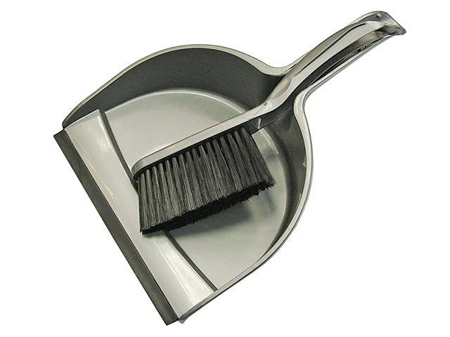 Faithfull Dustpan & Brush Set Plastic (220mm) FAIBRDUSTSET