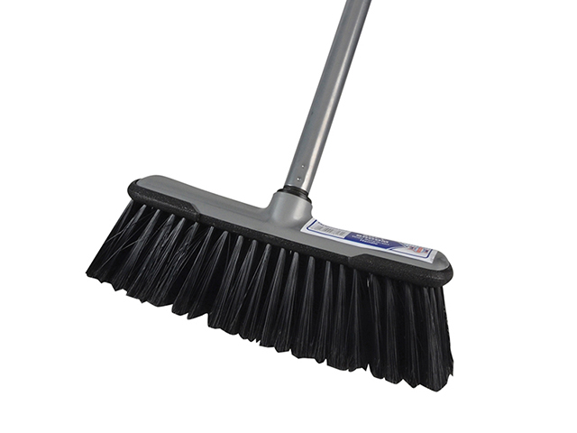 Faithfull Soft Broom with Screw On Handle 30cm (12in) FAIBRSOFTDIY