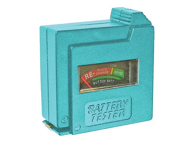 Faithfull Battery Tester for AA  AAA  C  D & 9V FAIDETBAT