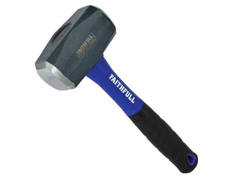 Faithfull Club Hammer Fibreglass Handle 1.81kg (4lb) FAIFG4