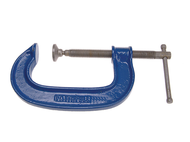 Faithfull Heavy-Duty G Clamp 200mm (8in) FAIG8