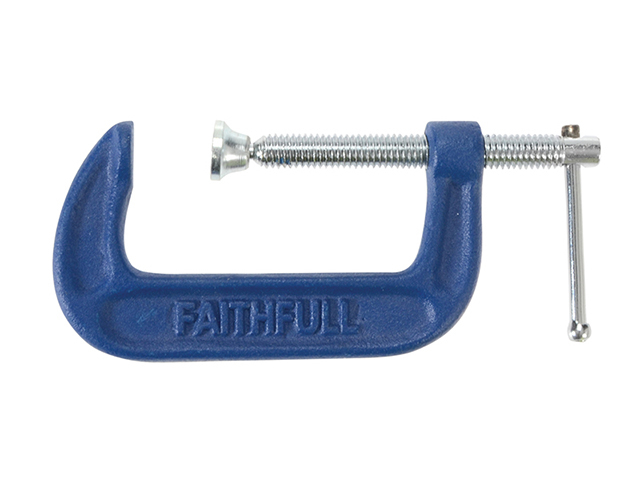 Faithfull Medium-Duty G Clamp 50mm (2in) FAIGMD2