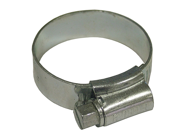 Faithfull 1X Stainless Steel Hose Clip 30 - 40mm FAIHC1XSSB