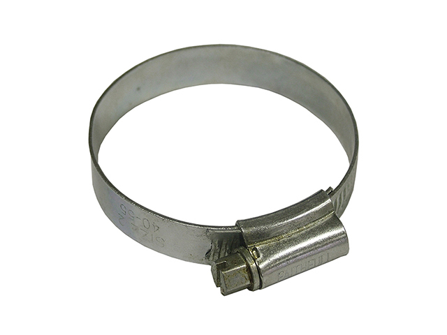 Faithfull 2X Stainless Steel Hose Clip 45 - 60mm FAIHC2XSSB