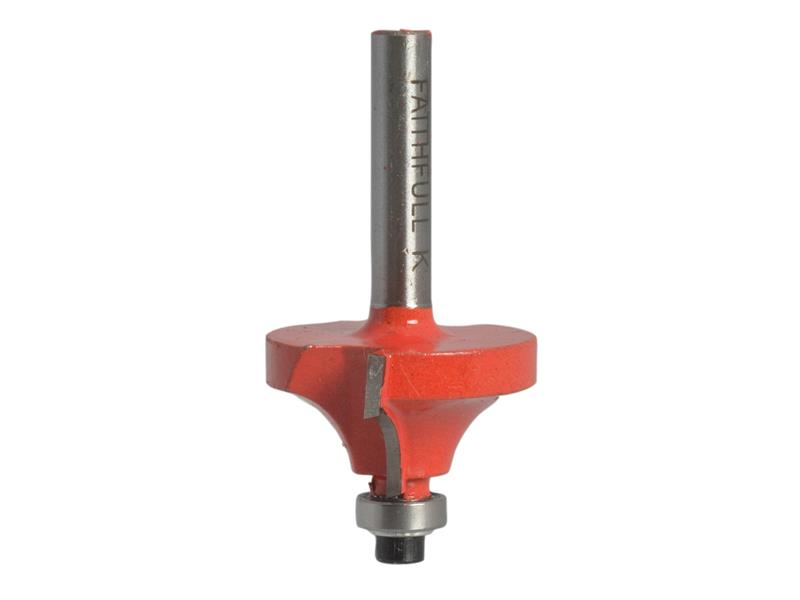 Faithfull Router Bit TCT Ovolo 16.5mm 1/4in Shank FAIRB32