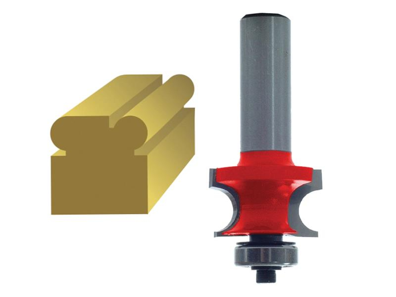 Faithfull Router Bit TCT 3.2mm Corner Bead 1/4in Shank FAIRB91