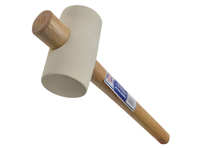 Faithfull Rubber Mallet - White 567g (20oz) FAIRMW214