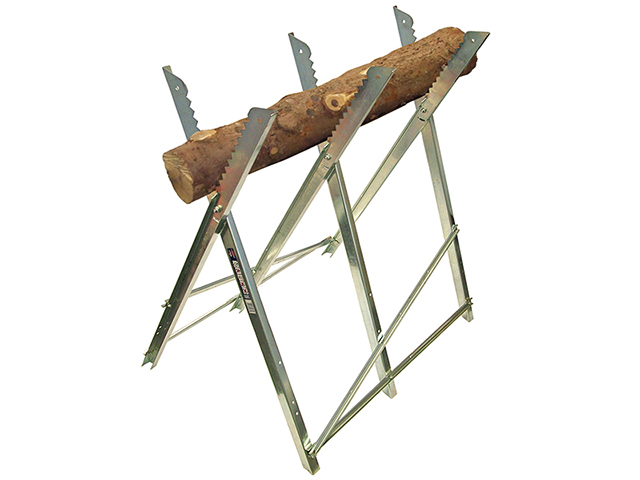 Faithfull Sawhorse Folding Trestle Galvanised FAISAWHORSE