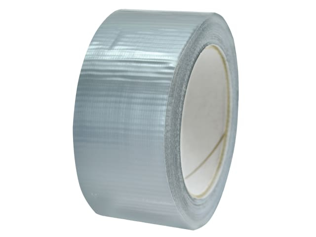 Faithfull Extra Heavy-Duty Gaffa Tape Silver 50mm x 20m FAITAPEEXTRS