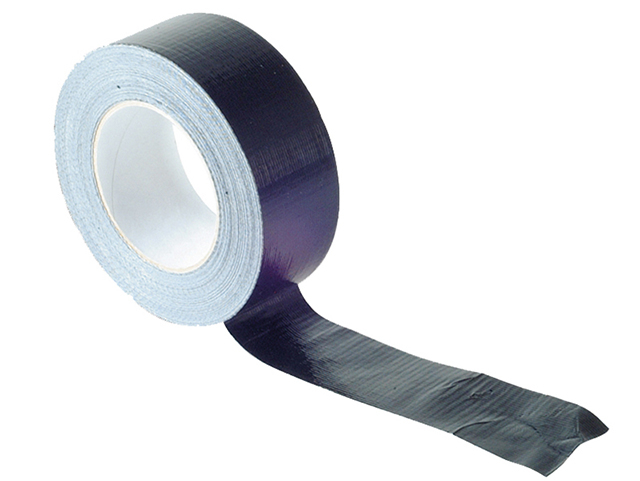 Faithfull Gaffa Tape 50mm x 50m Black FAITAPEGAFBK