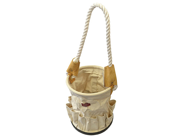 Faithfull Canvas Tool Bucket with Rope Handle FAITBBUCKET