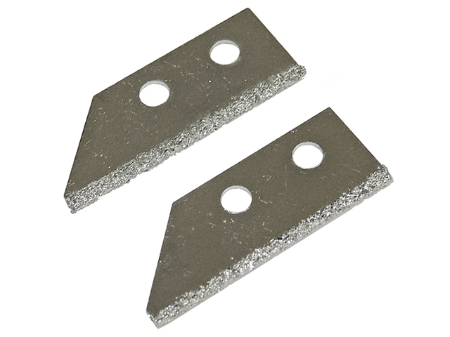 Faithfull Replacement Carbide Blades For FAITLGROUSAW Grout Rake (Pack of 2) FAITLGROUSB
