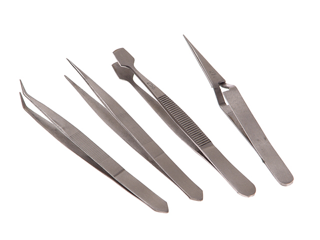 Faithfull Tweezer Set, 4 Piece FAITWSET4