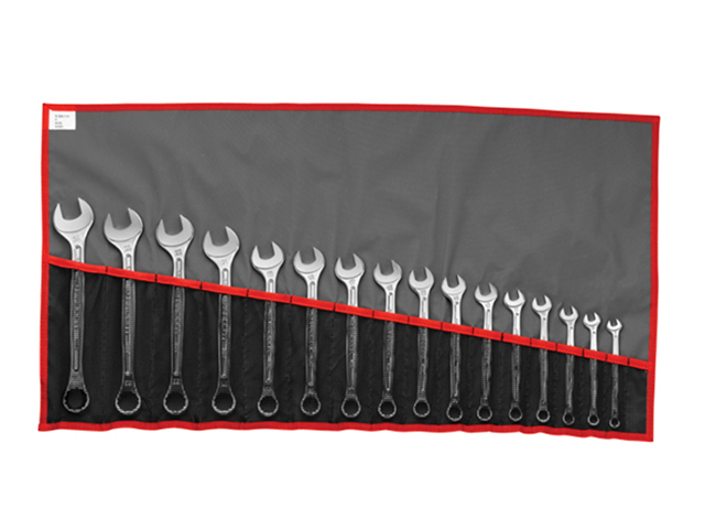 440.JU17T Combination Spanner Set, 17 Piece