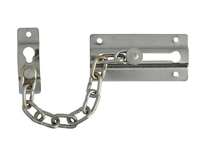 Forge Door Chain - Chrome Finish Plated 80mm FGEDCHNCH80