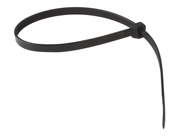 ForgeFix Cable Tie Black 8.0 x 450mm (Bag 100) FORCT450B