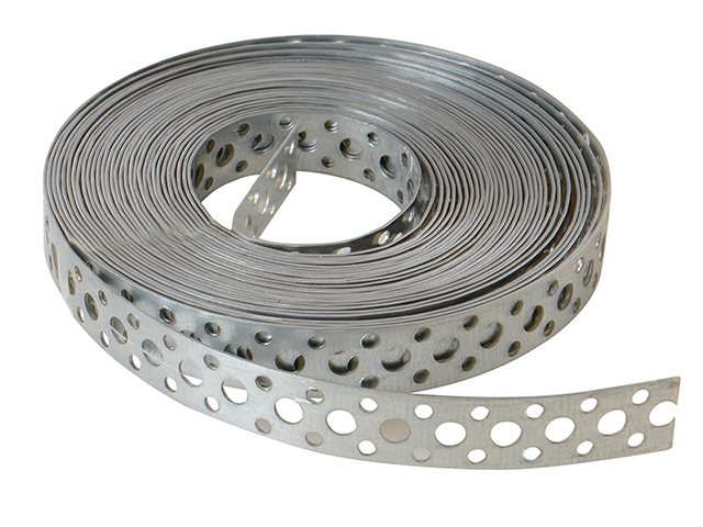 ForgeFix Builder's Galvanised Fixing Band 20mm x 1.0 x 10m Box 1 FORGB20