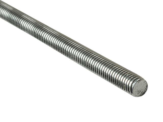 ForgeFix Threaded Rod Stainless Steel M10 x 1m Single FORROD10SS