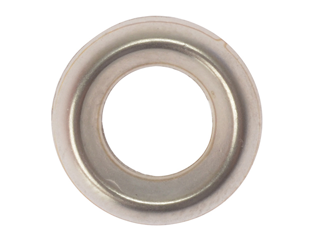 ForgeFix Screw Cup Washers Solid Brass Nickel Plated No.10 Bag 200 FORSCW10NM