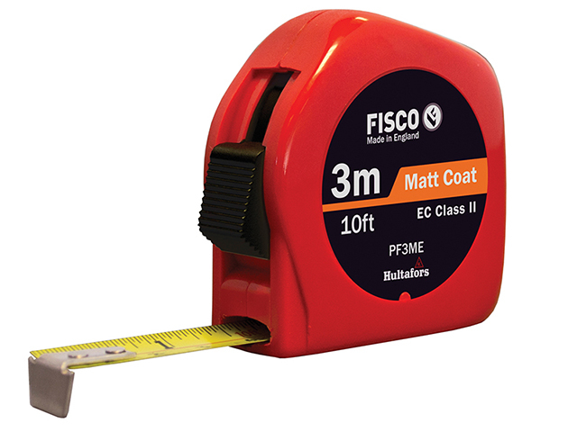 Fisco PFC3ME Pro Flex Pocket Tape 3m/10ft (Width 13mm) FSCPF3ME