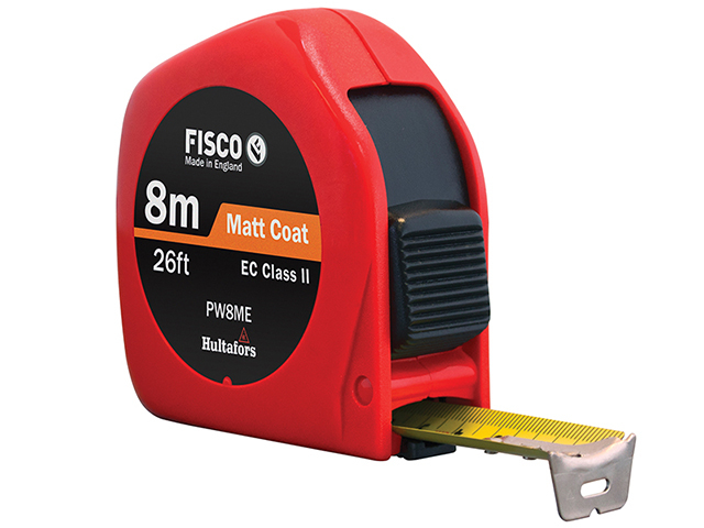 Fisco PW8ME Pro Flex Pocket Tape 8m/26ft (Width 25mm) FSCPWC8ME