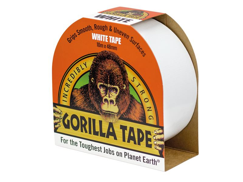 Gorilla Glue Gorilla Tape White 48mm x 10m GRGCLOTHWH