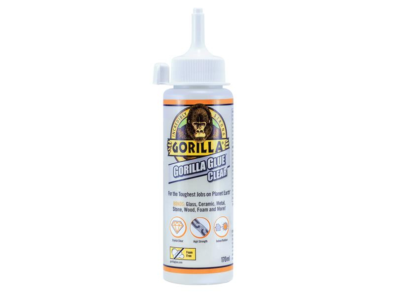 Gorilla Glue Gorilla Glue Clear 170ml GRGGGCL170
