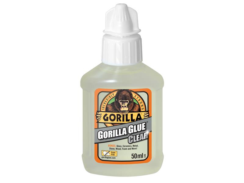 Gorilla Glue Gorilla Glue Clear 50ml GRGGGCL50