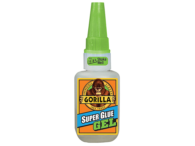 Gorilla Glue Gorilla Super Glue Gel 15g GRGSGG15