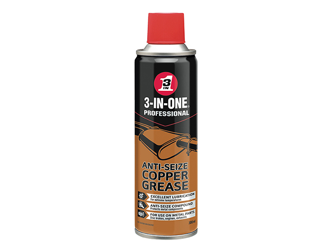 3-IN-ONE 3-IN-ONE Anti-Seize Copper Grease 300ml HOW44607