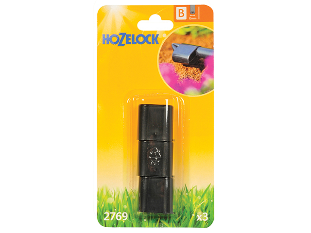 Hozelock End Plug 13mm (3 Pack) HOZ2769