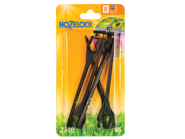 Hozelock Tube Stakes 13mm (5 Pack) HOZ2770