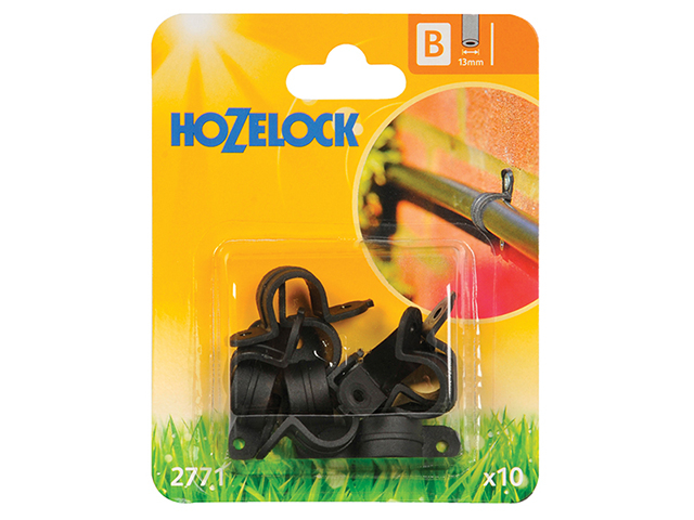 Hozelock Wall Clip 13mm (10 Pack) HOZ2771