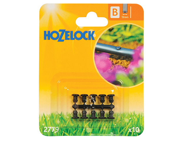 Hozelock Blanking Plug 13mm (10 Pack) HOZ2779