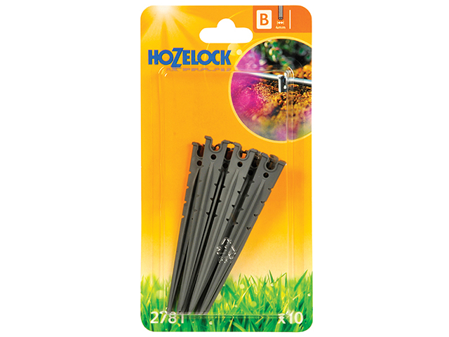 Micro Tube Stakes 4mm (10 Pack)