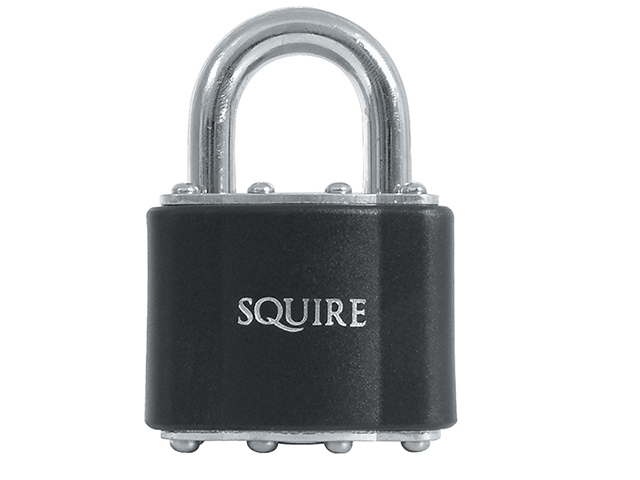 Henry Squire 39 Stronglock Padlock 51mm Open Shackle Keyed HSQ39KA