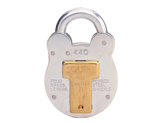 Henry Squire 440 Old English Padlock with Steel Case 51mm HSQ440