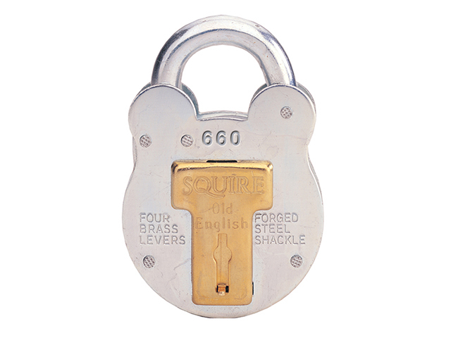 Henry Squire 660 Old English Padlock with Steel Case 64mm HSQ660