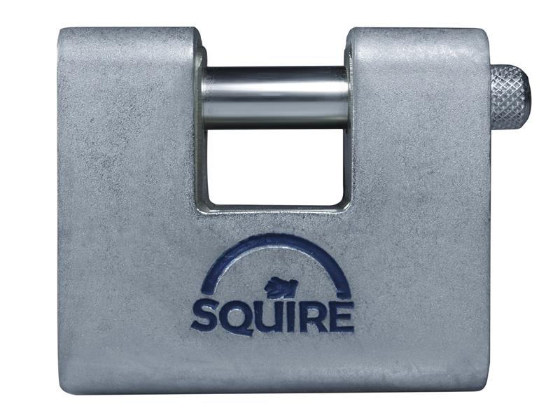 Henry Squire ASWL2KA Steel Armoured Warehouse Padlock 80mm Keyed Alike HSQASWL2KA