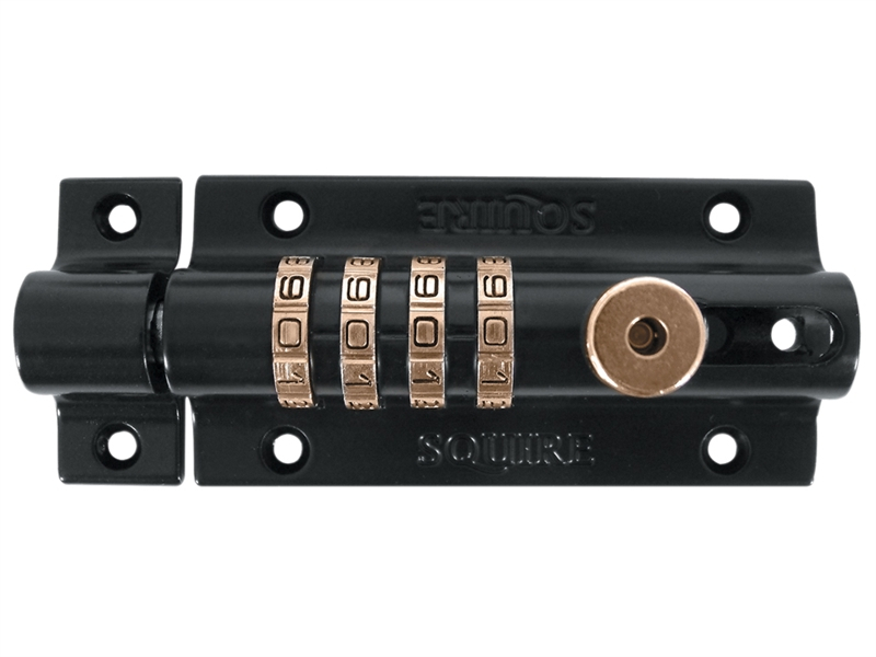 Henry Squire Combi 2 Re-Codeable Locking Bolt 120mm - Blue HSQCOMBI2