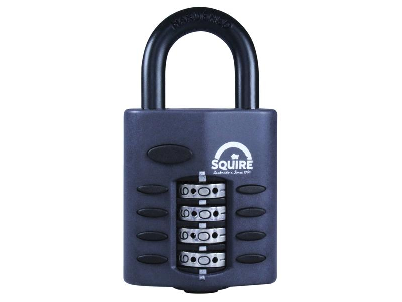 Henry Squire CP40 Combination Padlock 4-Wheel 40mm HSQCP40