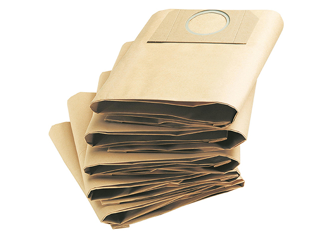 Karcher Dust Bags for A2204 & A2234PT Vacuum Pack of 5 KAR69591300