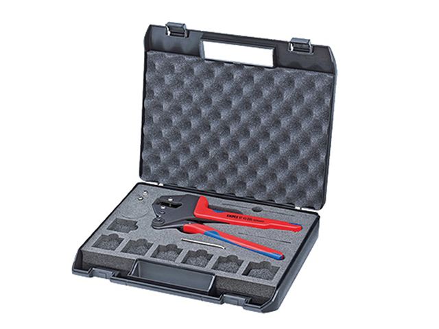 Knipex Crimp System Pliers In Case KPX9743200