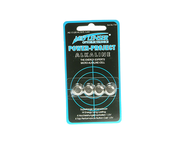 Ledlenser 7708 Alkaline Battery 1.5V (AG13) Pack of 4 LED7708