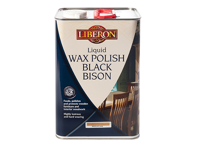 Liquid Wax Polish Black Bison Neutral 5 litre