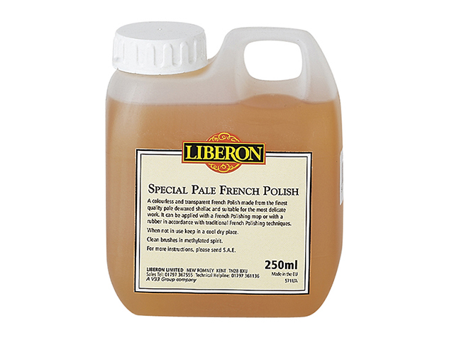 Liberon Special PaleFrench Polish 250ml LIBFP250