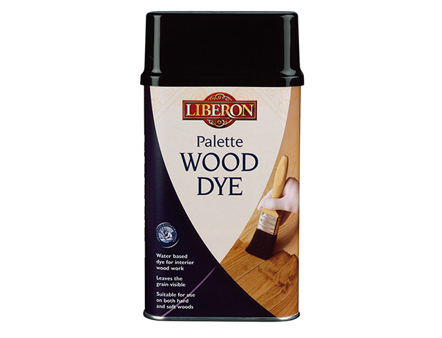 Liberon Palette Wood Dye Dark Oak 250ml LIBWDPDO250
