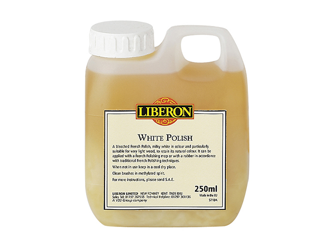 Liberon White Polish 250ml LIBWP250