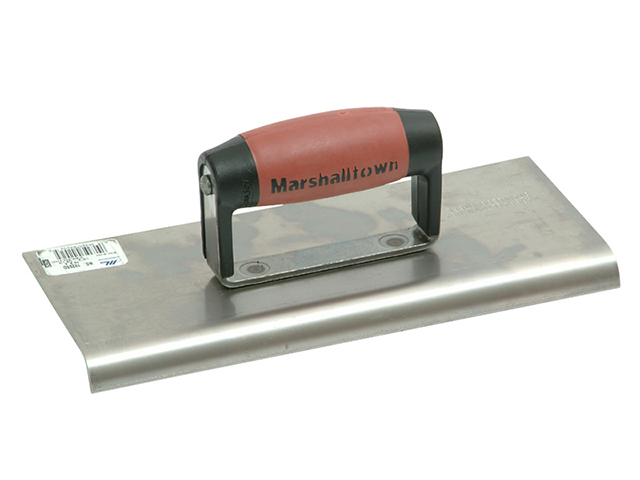 Marshalltown M192SS Stainless Steel Cement Edger DuraSoft® Handle 10 x 4in M/T192SSD